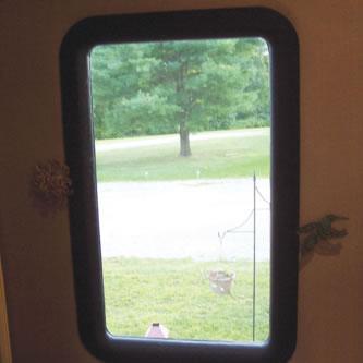 Remplacer la fen tre de votre porte de vr avec un verre de for Remplacer porte interieur