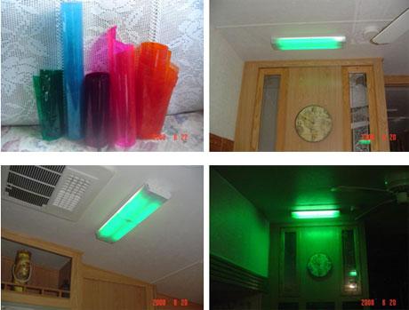 143 un truc pour tamiser la lumi re dans le vr for Eclairage neon interieur